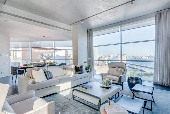 inside kim kardashian and kanye west s luxury penthouse in nyc rh pinterest com