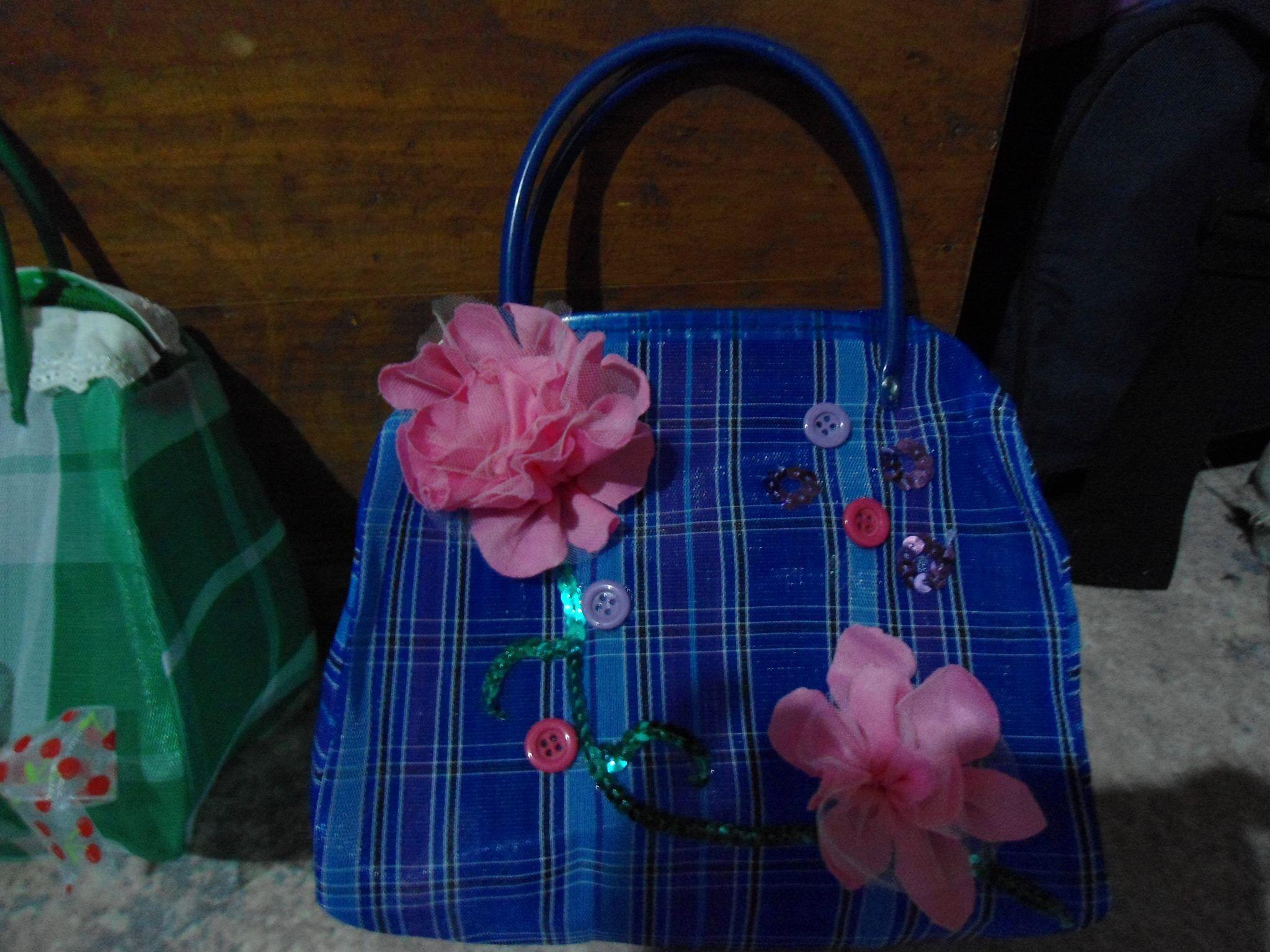 Bolsa de mandado decorada bolsas decoradas pinterest - Bolsas para decorar ...