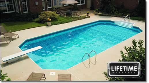 in ground pool blue wave in ground pool packages at a glance rh pinterest com
