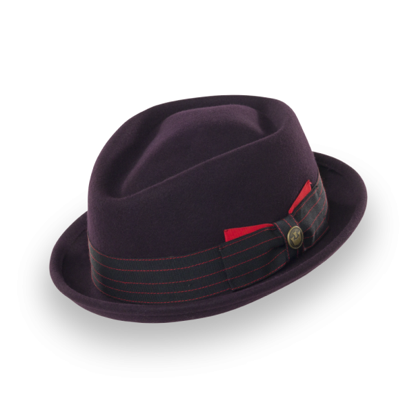 9ea02e77a81 Mr. Miller Felt Pork Pie Hat
