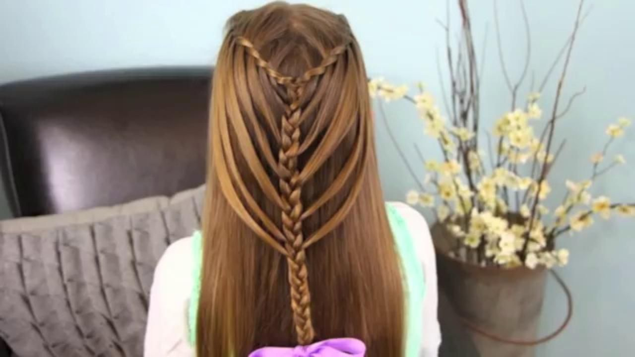 Subtle Twist Side Braid Cute Girls Hairstyles Video Dailymotion