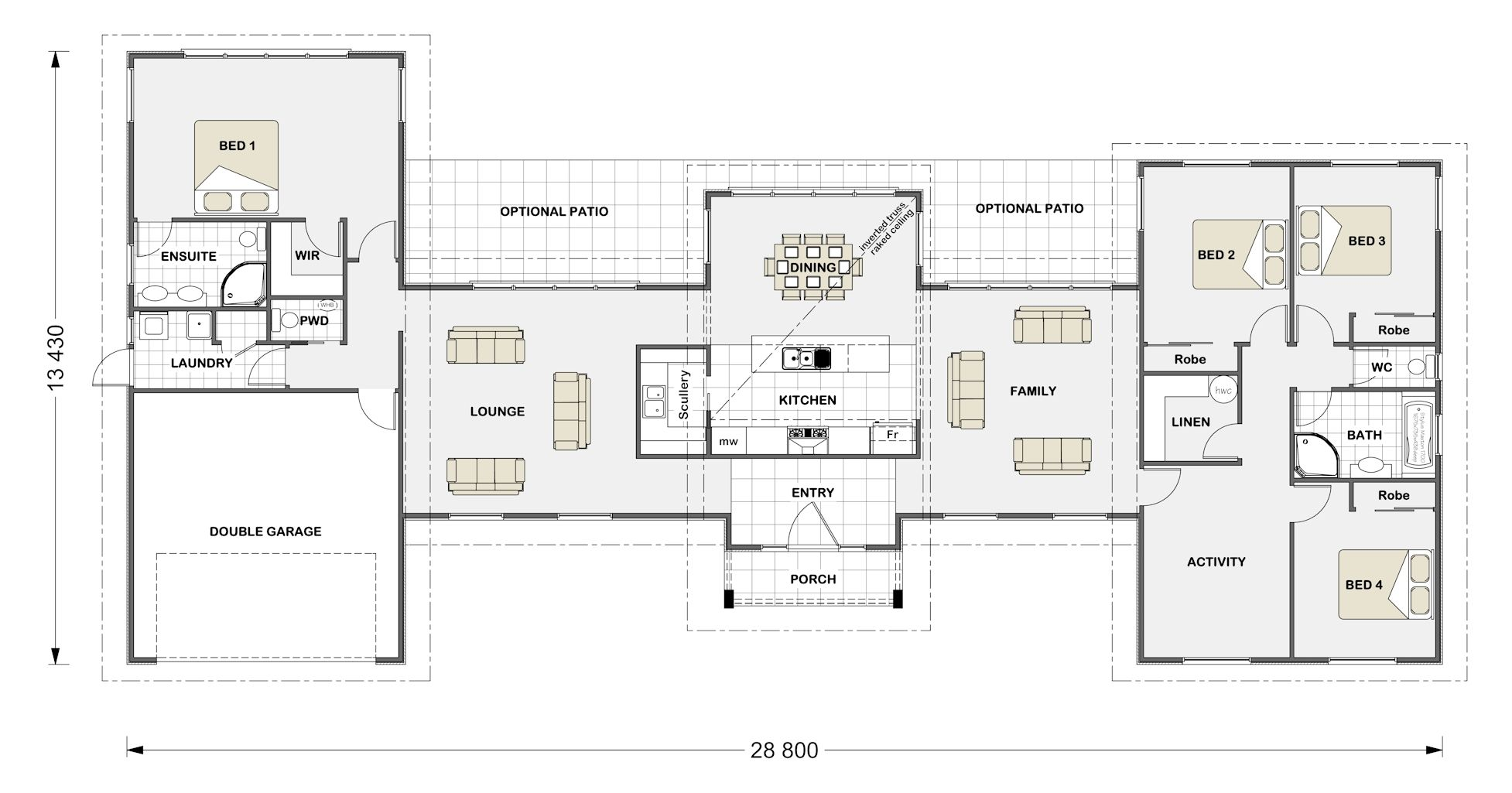 Stonewood Homes Floor Plans Part - 38: Stonewood Homes Have A Variety Of House Plans And Designs To Suit All Sizes  And Prices.