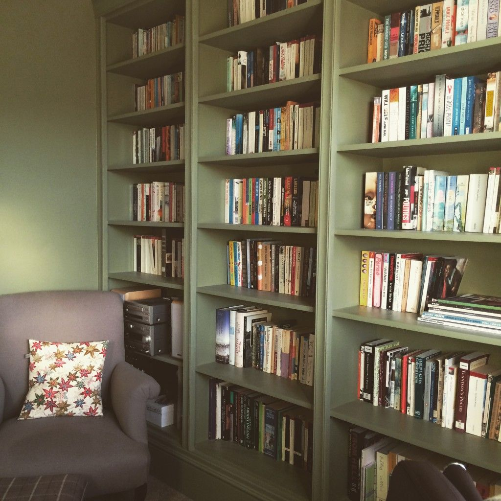 Floor To Ceiling Bookcase Installed In