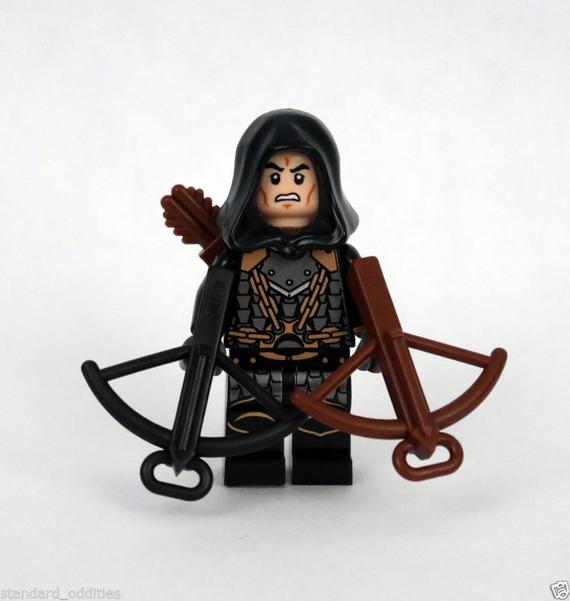 RARE LEGO Trident Black