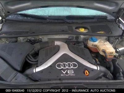 Audi a6 s4 27l twin turbo v6 engine motor 12g0693 cylinder 6 00 04 audi a6 s4 27l twin turbo v6 engine motor 12g0693 cylinder 6 sciox Gallery
