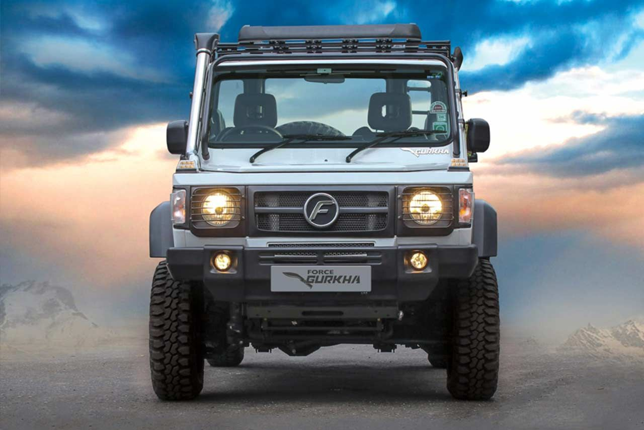 The Force Gurkha Xtreme Suv Now Comes With The Drivetrain That Powered The Force Gurkha Vehicles Which Won Podium Positions At Rain Forest Suv Suv Prices Force