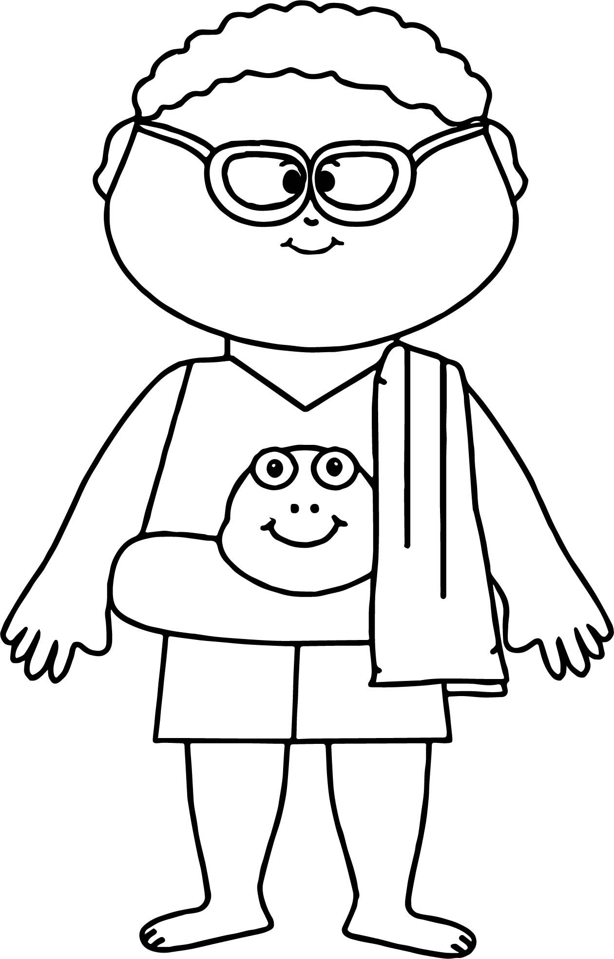 Summer Boy Coloring Page Coloring Pages For Boys New Year Coloring Pages Boy Coloring