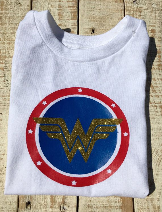 21833e8a Wonder Woman Inspired Shirt Vinyl Shirt by TheHairBowGallery ...