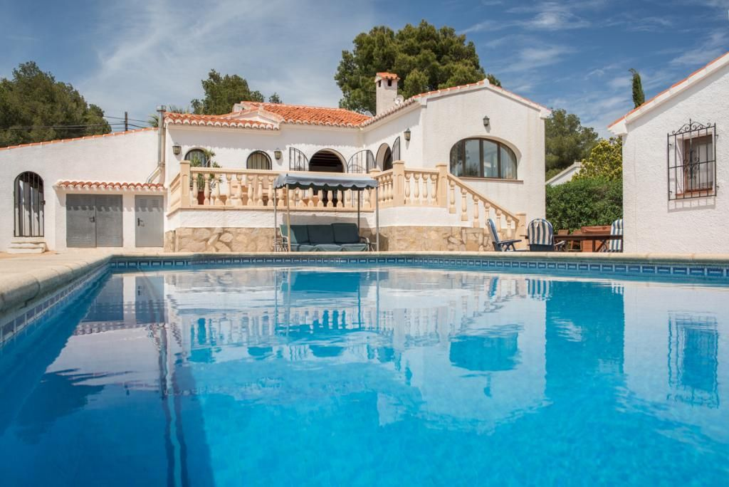 Wonderful and comfortable villa in Javea, on the Costa Blanca, Spain