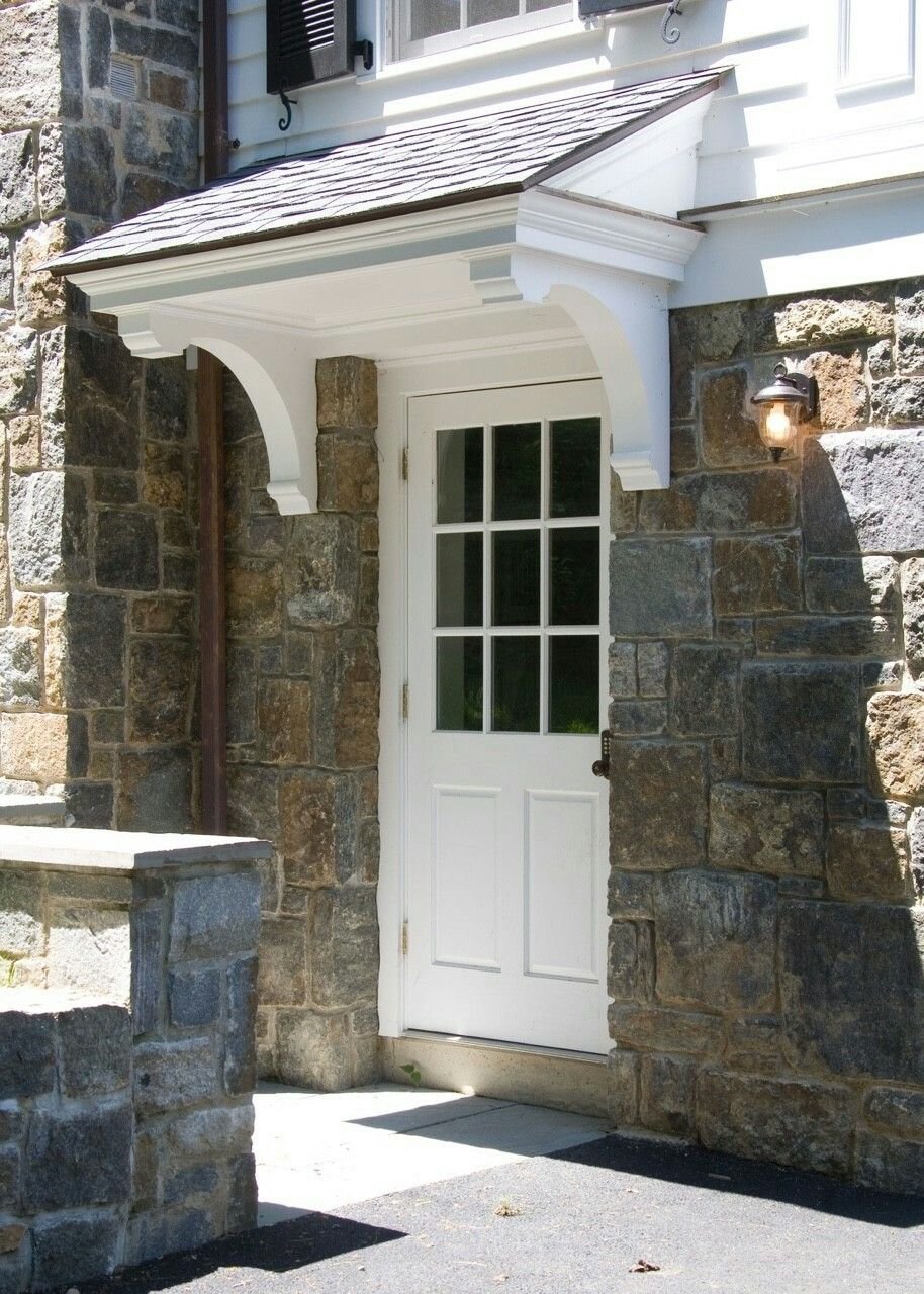 Pin By Home And Garden On Exteriors House With Porch Door Overhang Building A Porch