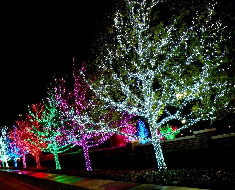 Best Oklahoma City Christmas Lights and Holiday Displays | Memories ...