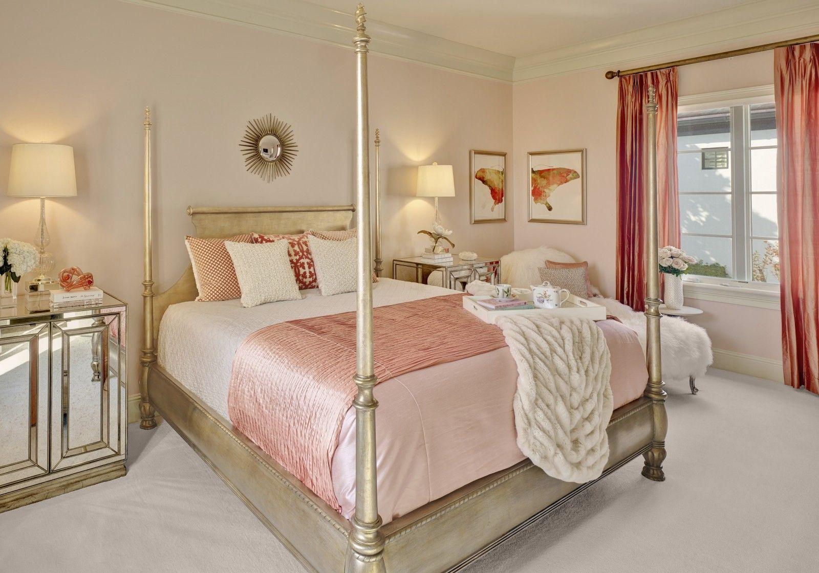 Beautiful feminine bedroom design - Sophisticated Feminine ...
