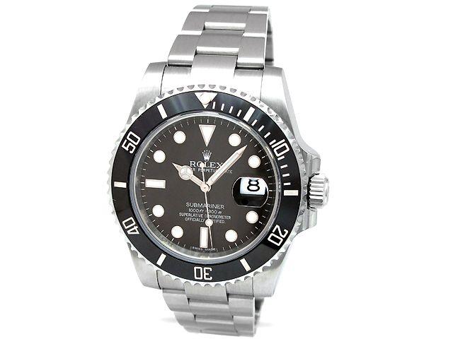 Stainless Steel Black Dial Black Ceramic Bezel 116610 Rolex Rolex Watches Submariner Submariner Watch
