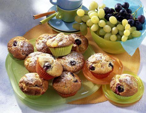 Weintrauben-Muffins Rezept   LECKER