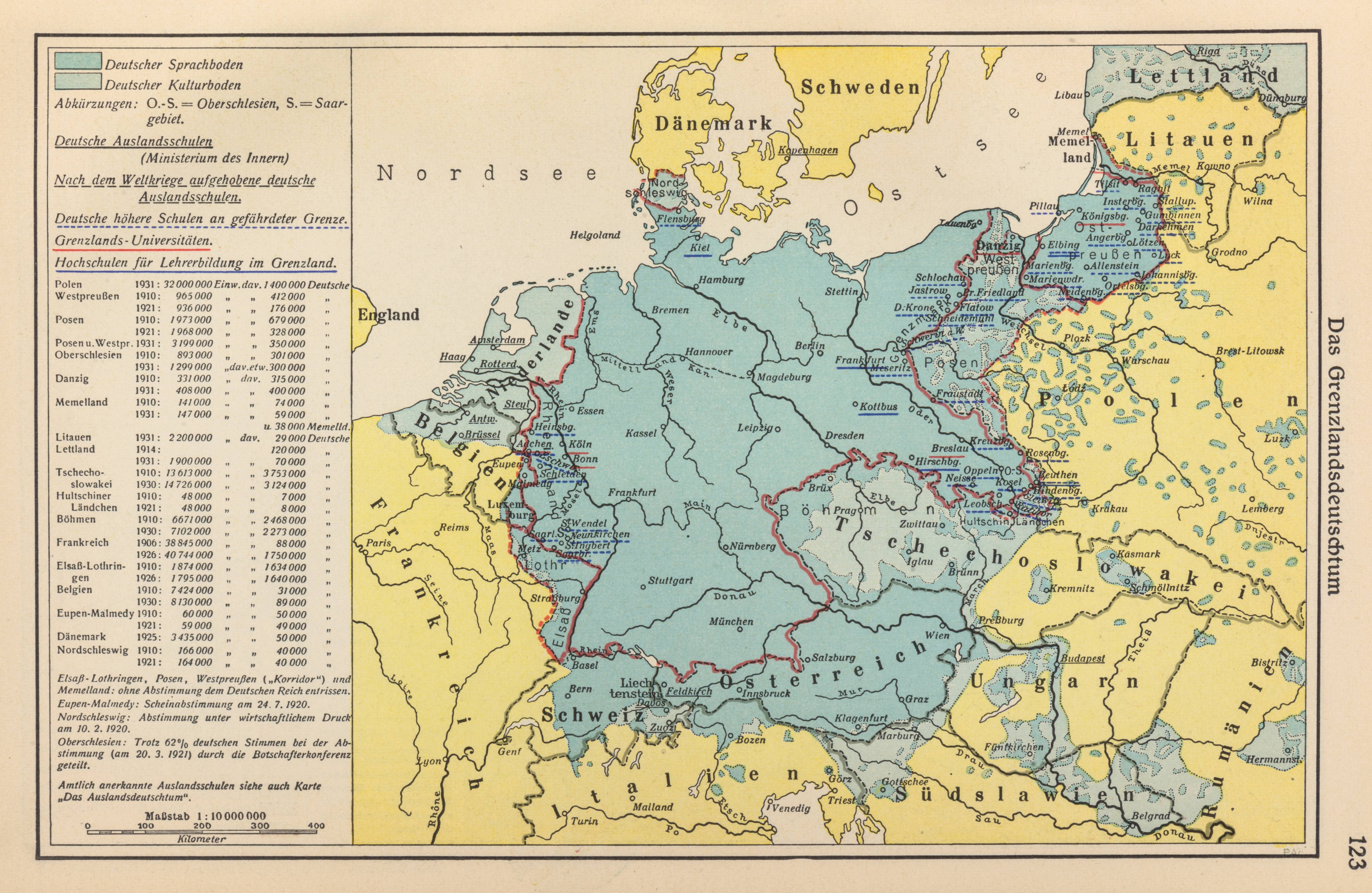 Map Of Germany 1938.The Borderland Germans 1938 Edson Historical Maps Map