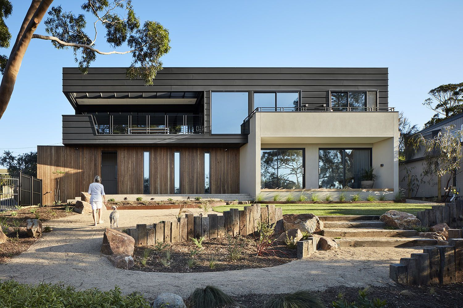 Archive of Mount Martha House by Bryant Alsop Architects. Located ...