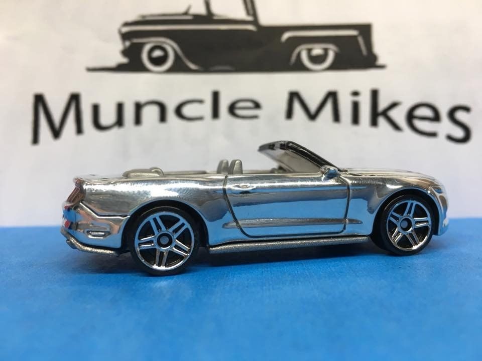 Hot Wheels 2015 Ford Mustang Gt Convertible POLISHED