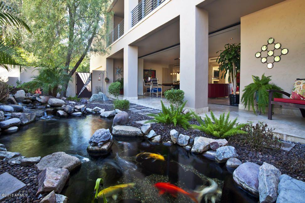 Koi Pond Teich \ Teichfilter Impressionen Pinterest - gartenteich mit brucke und bachlauf