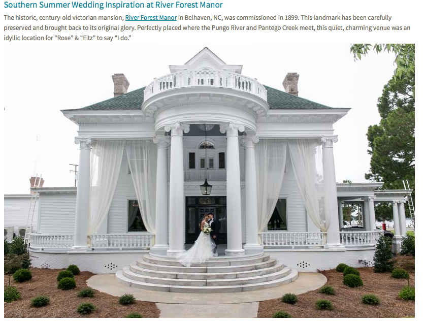 Southern Summer Wedding Inspiration At River Forest Manor Heart Of Nc Weddings Rumah Indah Dekorasi Rumah Rumah