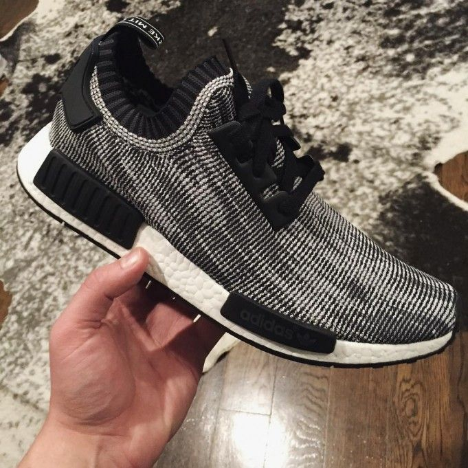 1d9672a50375d4 King In Tokyo Adidas Nmd Runner Unisex Shoes Grey Black – Getfash Shop