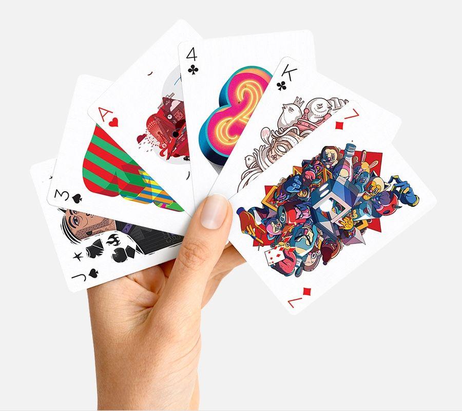 Dit is misschien wel het meest kunstzinnige kaartspel op aarde