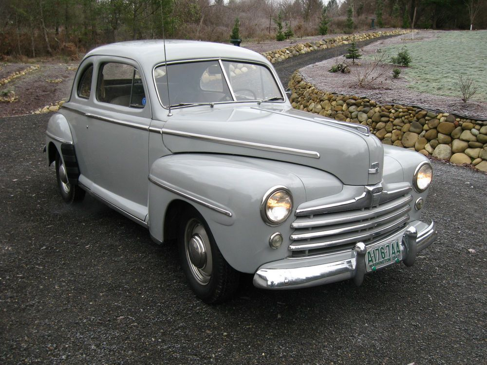 1948 Ford Super Deluxe Coupe Ebay Motors Cars Trucks Ford Ebay American Classic Cars Coupe Classic Cars