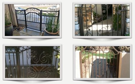 Iron Entry Gates - High Quality and Custom gates - http://ironoutlet.com/entry-courtyard-gates/