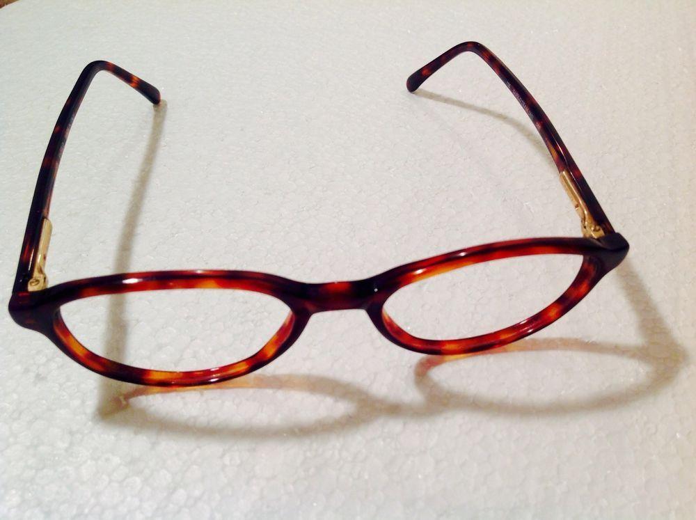 Safilo Team 1852 Tortoise eyeglass frames glasses plastic MADE IN ...