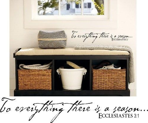 To Everything There Is A Season 4x20 By Itswrittenonthewall 10 99 Storage Bench With Cushion Bench Decor Bench With Storage
