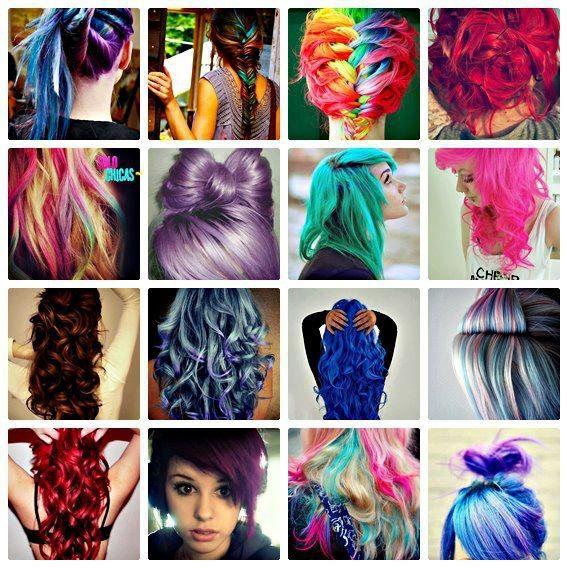 Tintes de pelo color fantasia