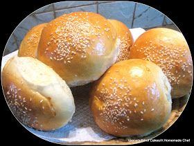 A Homemade Chef: Soft Burger Buns