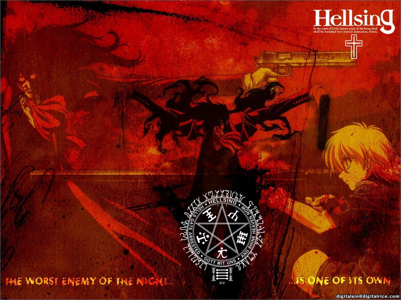 Pretty Hellsing Wallpaper Hellsing Category Wallpaperscreator