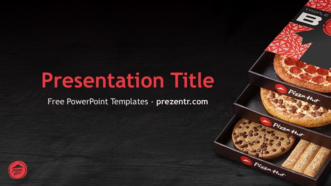 Free Pizza Hut PowerPoint Template - Prezentr PPT Templates