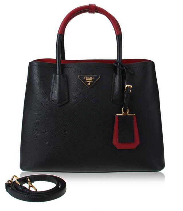 Prada Bag Red And Black