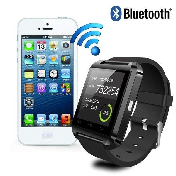 7b6787067 Buy New U8 Bluetooth Smart Wrist Watch Phone Mate For Andriod Phone Samsung  Note4 N9100 LG HTC Huawei at Geek - Smarter Shopping