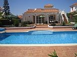 Holiday Villa in Caleta de Fuste, Caleta Area, Fuerteventura, Canary Islands C4244 £700/w