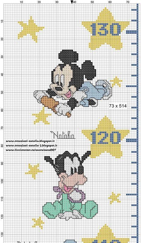 metro Disney baby | metro nascita | Pinterest | Punto de cruz, Punto ...