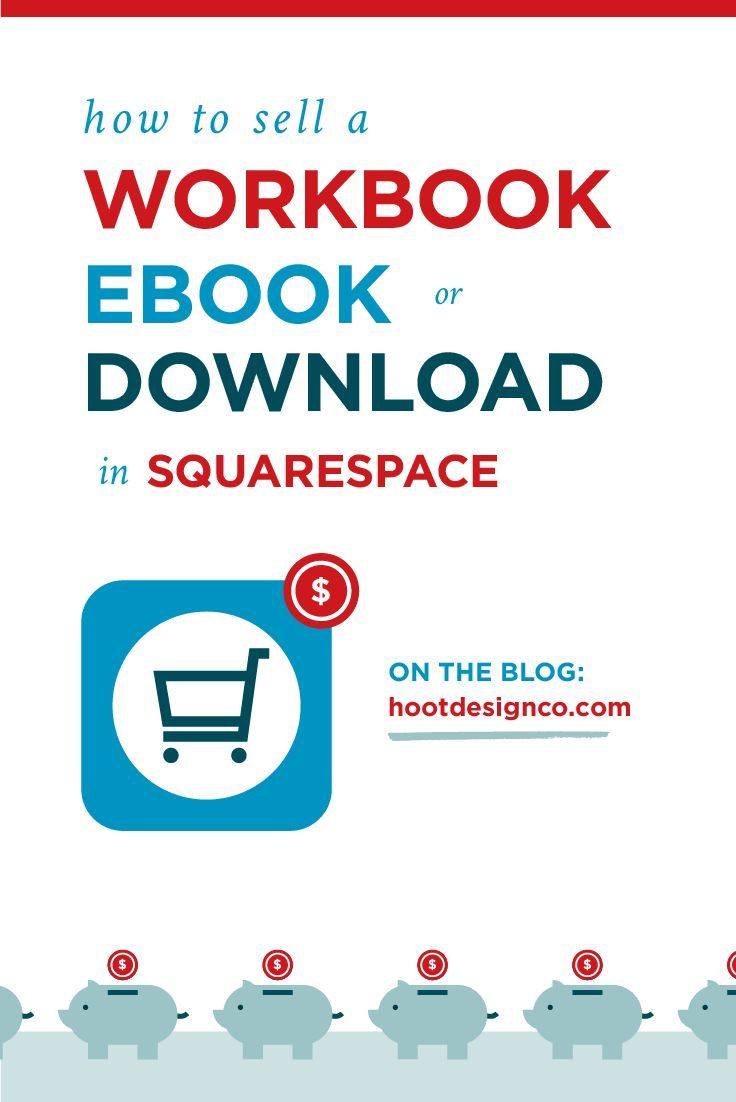 How to Sell a Workbook, Ebook, or Digital Download in