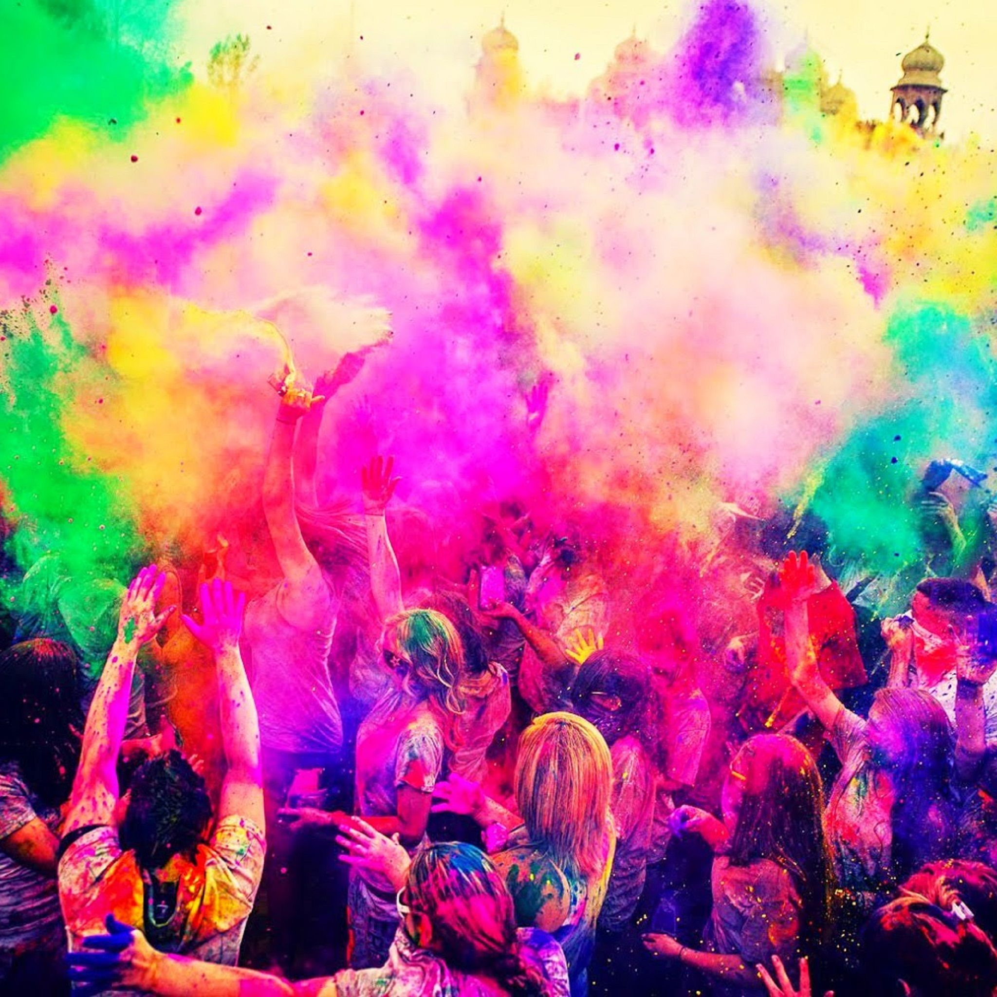 Happy Festival Of Color Tap To See More Happy Holi Color