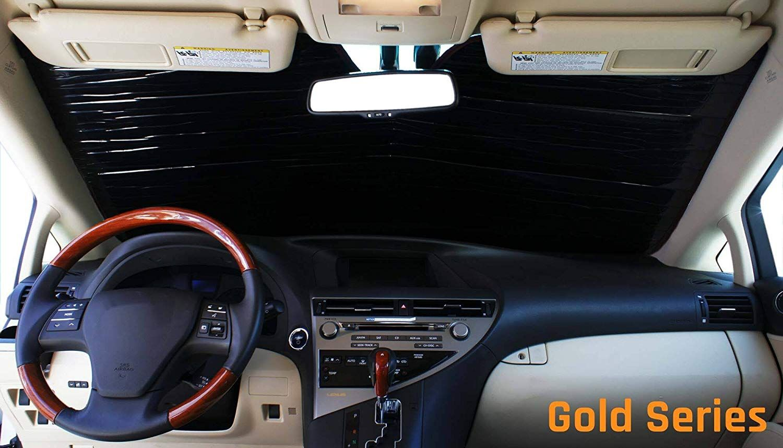 2014 Custom-Fit for Toyota FJ Cruiser SUV 2007 2011 2008 The Original Windshield Sun Shade 2012 Silver Series 2013 2010 2009 HeatShield