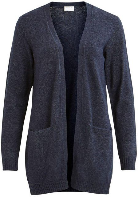 Photo of Buy Vila Cardigan »VIRIL« in open form, plain fine knit cardigan from VILA online OTTO