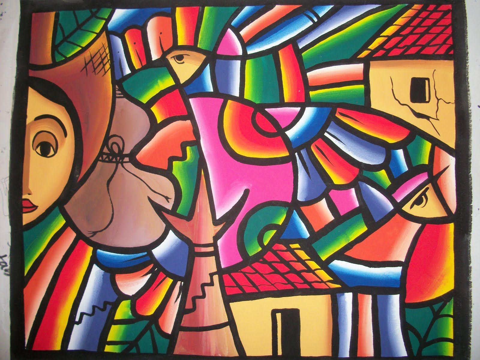 Fernando Llort Obras Buscar Con Google Pinturas Arte Naif