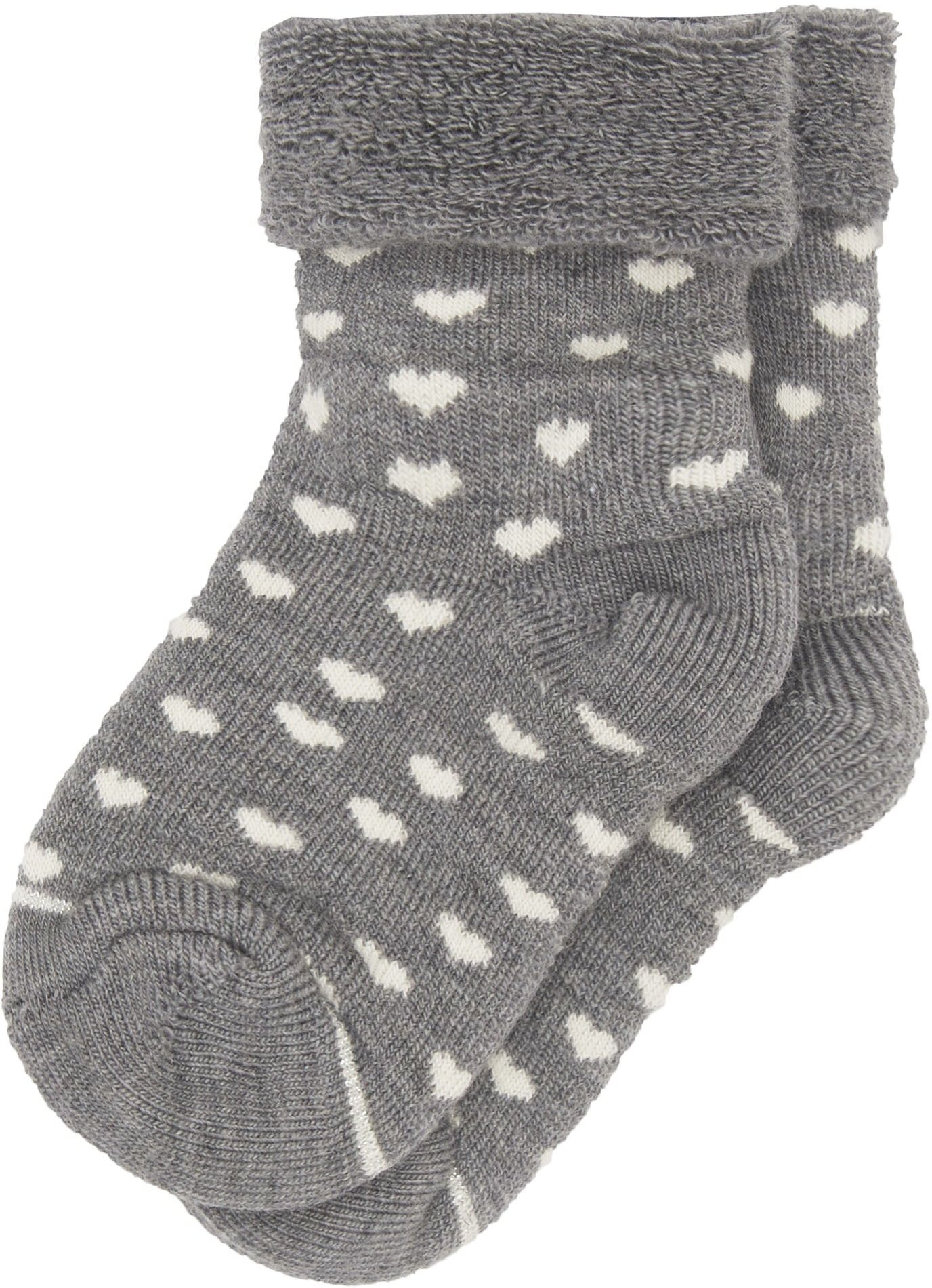 Shop The Martin Pederson Girls Wool Baby Ankle Socks In Grey Browse