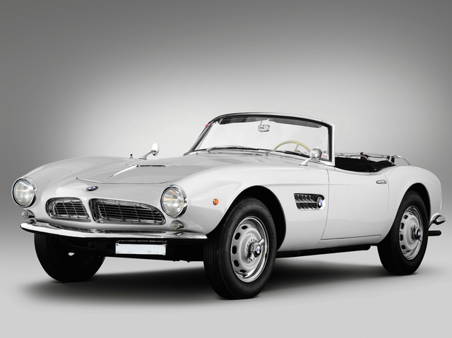 One of the most beautiful cars ever made  The 1957 BMW 507     1957 BMW 507