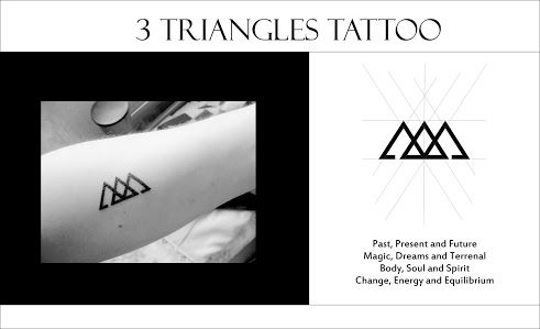 3 Triangles One Day Pinterest Geometric Tattoos And Tattoo