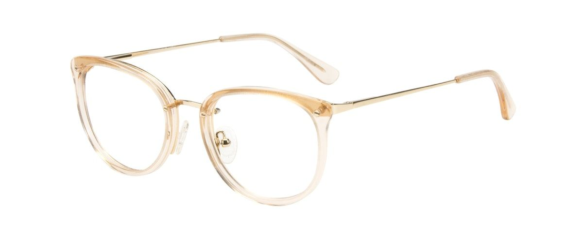 cf708cdaa0 Affordable Fashion Glasses Square Round Eyeglasses Women Amaze Blond Metal  Tilt