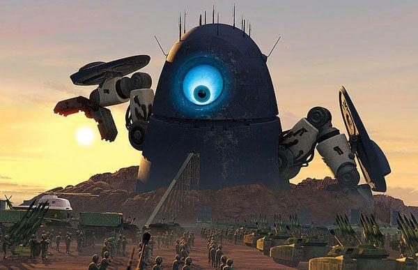 Robot Probe Monsters Vs Aliens Monsters Vs Aliens Alien