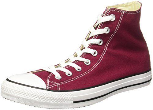 Converse Chuck Taylor All Star, Unisex-Erwachsene Hohe Sneakers, Rot  (Maroon), EU EU - Converse schuhe (*Partner-Link)