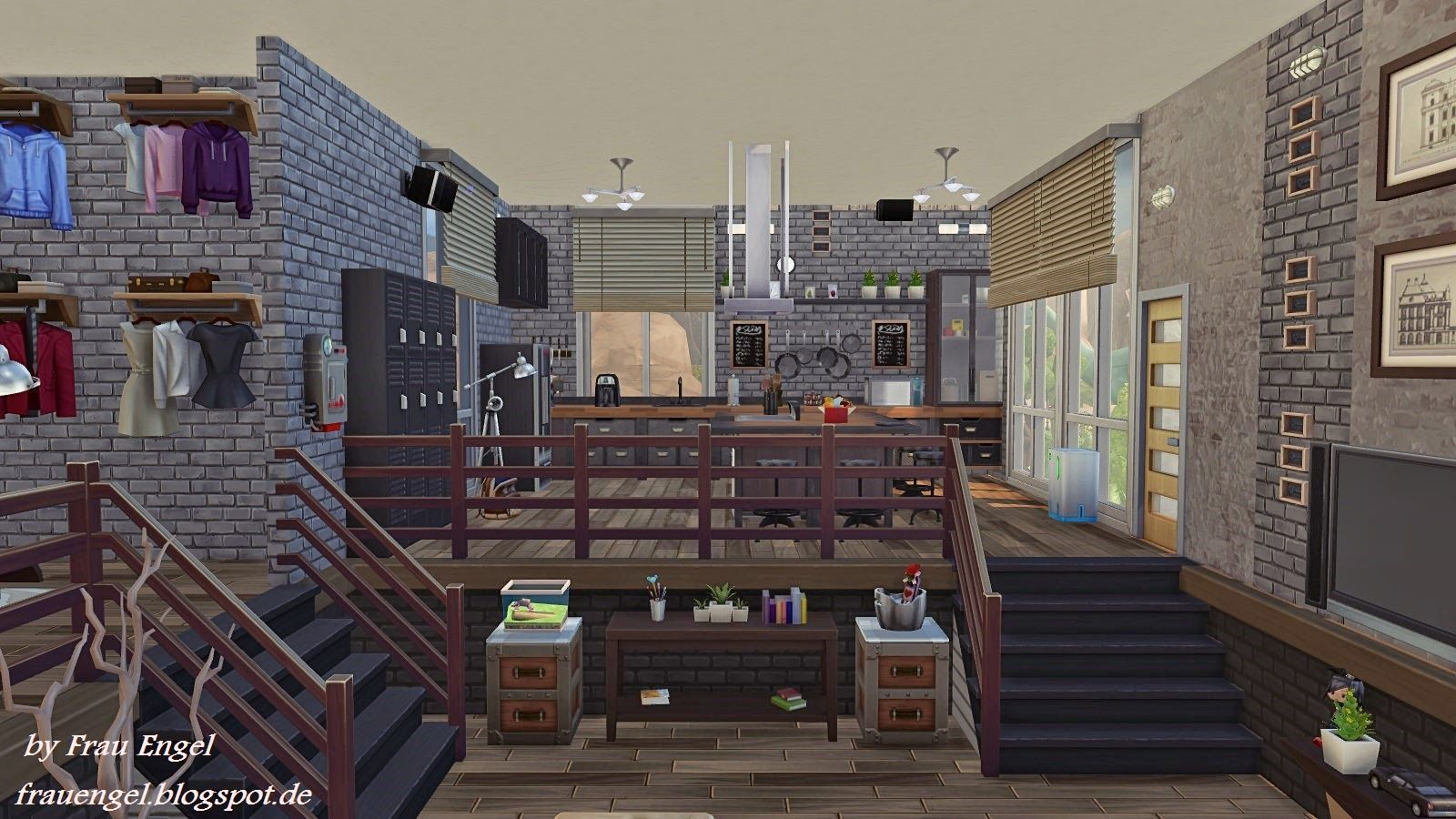 Industrial Loft Download It From Sims 4 Gallery My Origin