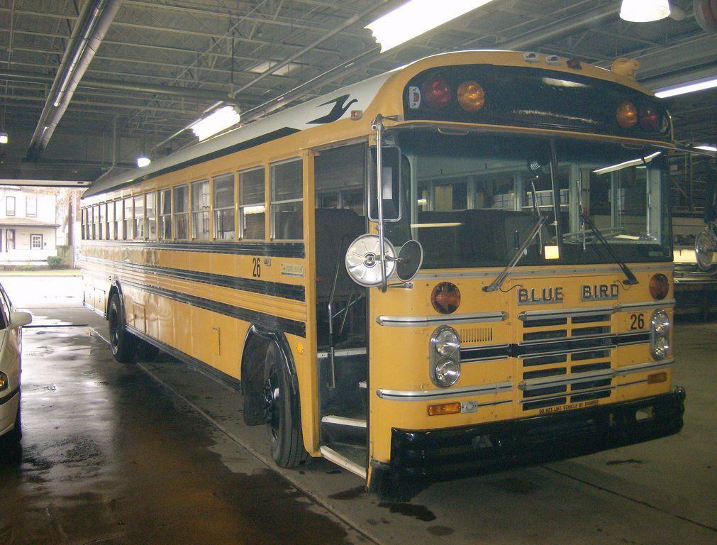 1987 Bluebird Bus, School bus, Blue bird